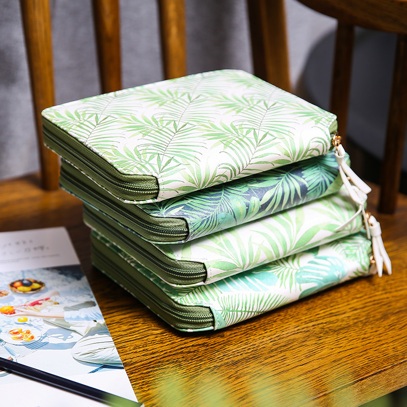 Image 2 - Yiwi Original A6 Green Leaf Hobo Zip Bag Planner Creative Diary Notebook Office Supplies With Gift Box-in Notebooks from Office & School Supplies