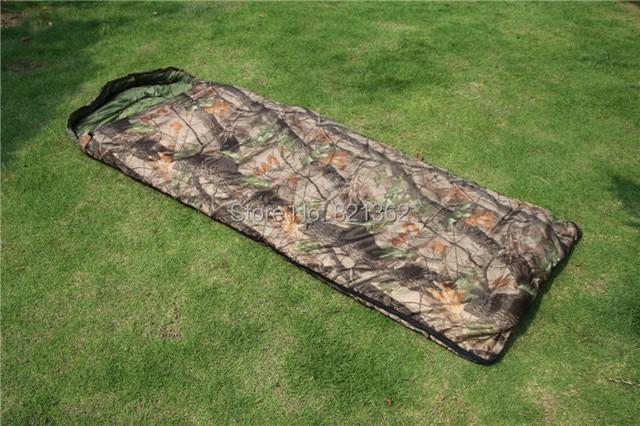 Outdoor Safari Hunting Sleeping Bag Realtree Camouflage Hiking