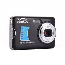 Amkov AMK-CDFE 18 Мегапиксельная Цифровая Камера 2.7 Дюймов Дисплей Мини Портативный Высокой четкости Съемки Камеры Карманные Камеры