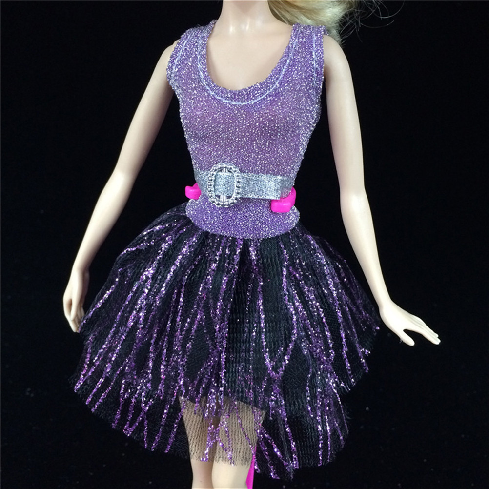 1 Set Fashion Doll Clothes New Handmade Party Doll's Dress Gown best baby gift