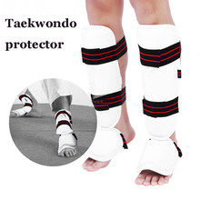 Taekwondo Schutz Set Karate Schutz Taekwondo Boxen leggings Training Ausrüstung Arm Shin Guards Erwachsene Kind Martial Arts(China)