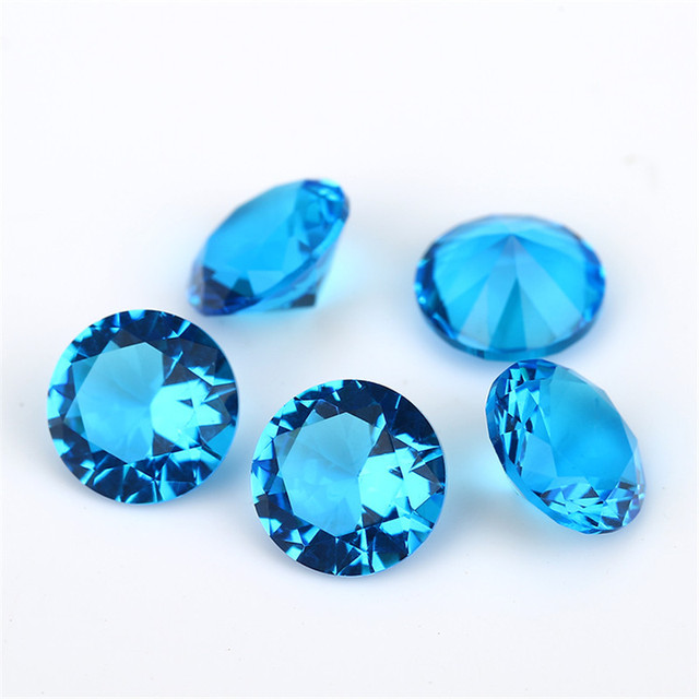 Размер 1 мм ~ 15 круглый стеклянный камень белый зеленый синий