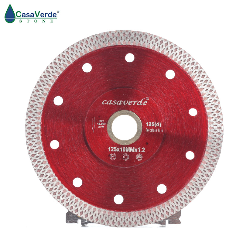 Free shipping DC-SXSB03 5 inch diamond circular saw blade 125mm for cutting porcelain and ceramic tile cutting blade