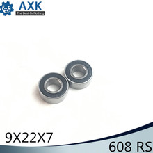 608/9 Bearing ABEC-1 ( 4 PCS ) 9x22x7 mm Miniature RS 2RS Ball Bearings 608-9 608/9RS