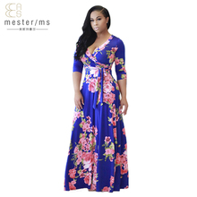 summer dresses plus size women clothing 2017 europe Bohemian bandage free shipping lady dresses fashion Sexy maxi dress vestido