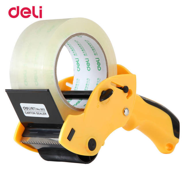 cool handy office supplies. Deli 60mm Wide Package Adhesive Tape Cutter Sealing Dispenser Manual Handy Office Supplies Cool