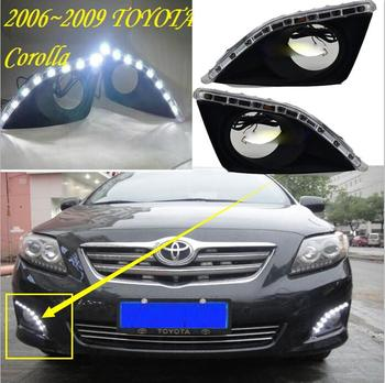 2007~2010 Corolla daytime light,altis,auris,car accessories,Free ship!LED,Corolla fog light,car styling,camry,reiz,motorcycle honda odyssey