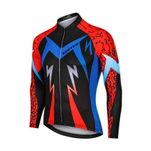 цена на Men's Cycling Jersey Long Sleeve Cycling Clothing Pro Team Mountain bike MTB Bike Jersey Clothes Ropa Ciclismo Bicycle Tops Race