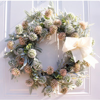 Simulated wreath handmade Christmas decoration onion ball hanging wall decoration factory direct sales Free Shipping