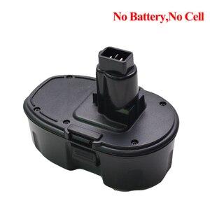 Image 5 - Dewalt 18V elektrikli matkap pil plastik kasa (pil hücreleri) değiştirin DC9096 DE9096 DE9503 DE9098 DW9095 DW9096 DW9098