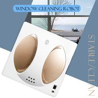 Window Robot Vacuum Cleaner Switch Freely Remote Control Low Noise Smart Window Sweeping Robot Strong Suction White Gold