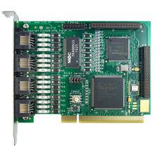 Opensource Quad T1/TE410P cartão asterisk E1 cartão cartão T1 E1 ISDN PRI VOIP Hardware Gateways VoIP Compatível Com Asterisk Placas PCI