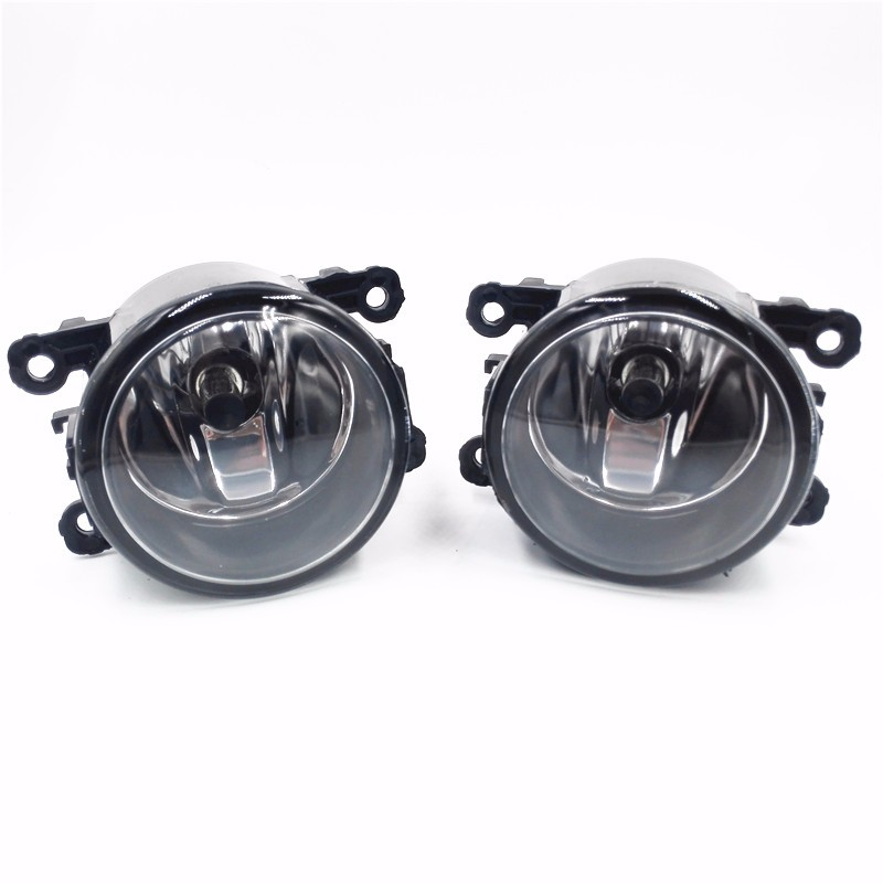 Fog Lamp Assembly Super Bright Fog Light 2pcs 55W New (Right + Left) Universal Fog Lights + H11 Bulbs new 2pcs female right left vivid foot mannequin jewerly display model art sketch