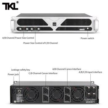 Home Audio Amplifiers | TKL PS1500 DJ Power Amplifier Audio Digital Amplifier Hifi Stereo Home Audio Power AMP 1500w Stage Hifi