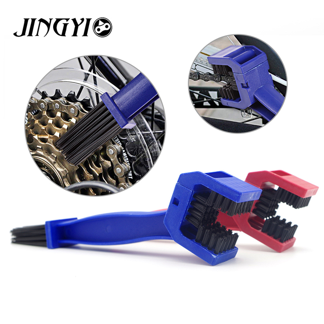 Plastic Gear Grunge Brush Motorcycle Chain Clean Brush For Triumph