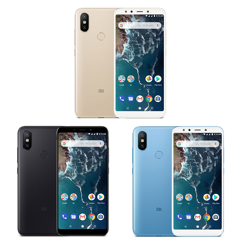 "Global Version Xiaomi Mi A2 Mia2 4gb Ram 64gb Rom Mobile Phone Snapdragon 660 Octa Core 5.99"" 19:9 Full Screen 20mp Dual Camera #2"