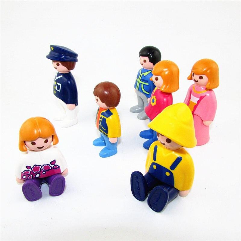Random 5pcs/set Playmobil Action Figure New Playmobil