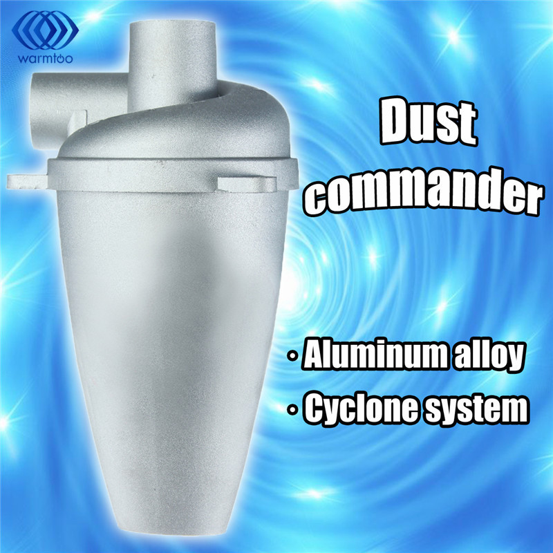 Aluminium Alloy Cyclone Dust Collector Filter SN25T5 Separator Collector Vacuums Cleaner Filter Home Industrial Duct Collector 1pc industrial cyclone filter dust collector cnc machining woodworking tool parts for vacuums dust extractor separator mayitr