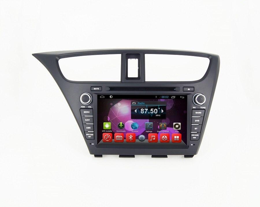 Lecteur dvd de voiture Navirider pour Honda Civic 2014 octa core android 8.1.0 voiture gps unité de tête multimédia enregistreur stéréo
