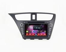 Navirider dvd-плеер для Honda Civic 2014 8-ядерный android 8.1.0 Автомобильный gps мультимедиа головное устройство стерео магнитофон