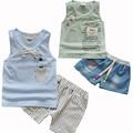 New Fashion Baby Boy Clothing Set Tank Top + Shorts Jeans Kids Clothes Toddler Boy Clothing Set Children Clothing Boys Costume
