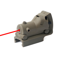 Military Red Laser Sights For Glock Guns Tactical Mini Under mounted Red Dot Laser Sight 20mm Picatinny Rail Gun