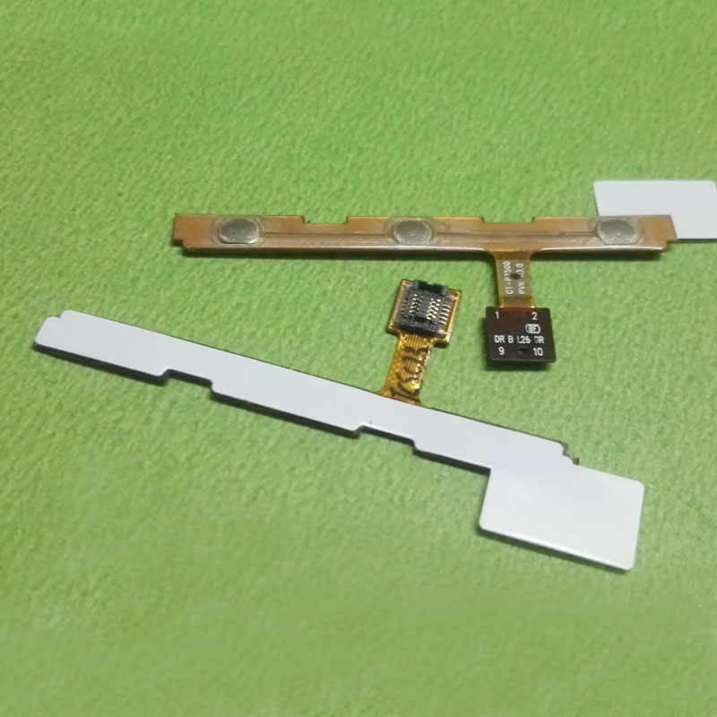 Power Switch On/Off nút Flex Cable Ribbon Đối Với Samsung Galaxy Tab 10.1 GT-P7500 p7500 P7510 Khối Lượng side key