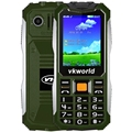 Vkworld sprd6531 v3s 2.4 pulgadas de banda cuádruple desbloqueado teléfono cámara dual fm bluetooth linterna led mp3 21 teclas a prueba de agua teléfono móvil