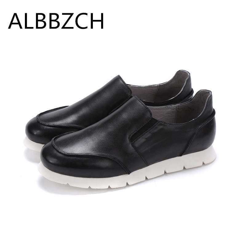 2018 New Genuine Leather Casual Shoes Men Loafers Autumn Winter Mens Flat Shoes Breathable Outdoor Shoes Walking Men Size 38-442018 New Genuine Leather Casual Shoes Men Loafers Autumn Winter Mens Flat Shoes Breathable Outdoor Shoes Walking Men Size 38-44