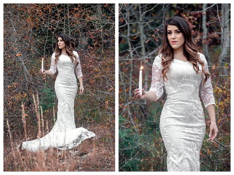 Mermaid Wedding Gowns With Sleeves: Vintage Lace Mermaid Modest Wedding Dresses 2017 With 3/4