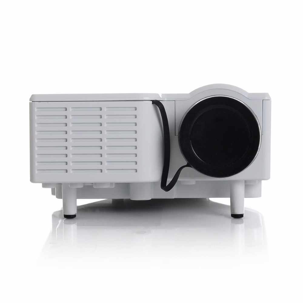 Cheapest unic uc28 up to uc28 portable led mini projector for Good mini projector