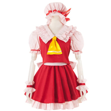 Cosplay Costume TouHou Project Flandre Scarlet Halloween Costumes women Full set Uniform Suit the touhou project yukari yakumo cosplay costume halloween luxury party dress custom made