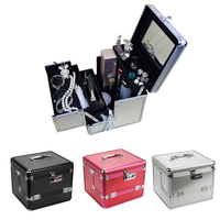 New Fashion Professional Makeup Bag Women Cosmetic Bags Case High Quality Female Beauty Makeup Box Large