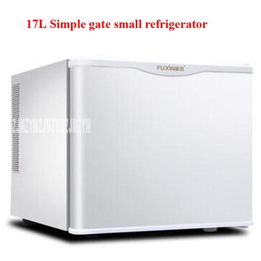BC-17A 220V/50Hz Single-door Small Refrigerator Refrigerated Volume 17L Household Small Refrigeration Mini Refrigerator 60WPower