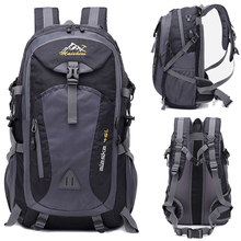 40L Waterproof USB charging Climbing Unisex male travel men Backpack me