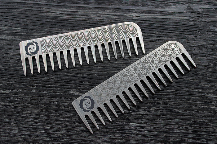 Titanium Alloy Seiko Comb No Static Electricity Not Allergic Light Weight Tools carbon fiber antistatic brush remove static electricity 1460x1400mm