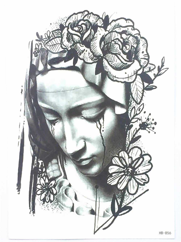 Nova moda irmã chorar tatuagem à prova dwaterproof água jóias henna sexy henna falso tatuagem temporária (tamanho 21*15 cm) HB-856