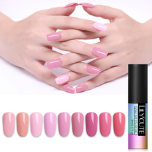 LILYCUTE UV LED Gel Polish Long Lasting Red Grey Coffee Series Soak Off Nail Art Varnish 90 Colors Vernis