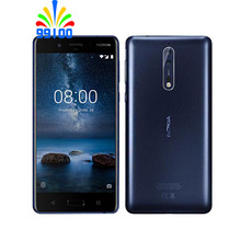 Unlocked Original Nokia 8 Qualcomm835 Dual SIM 5.3inch Scree