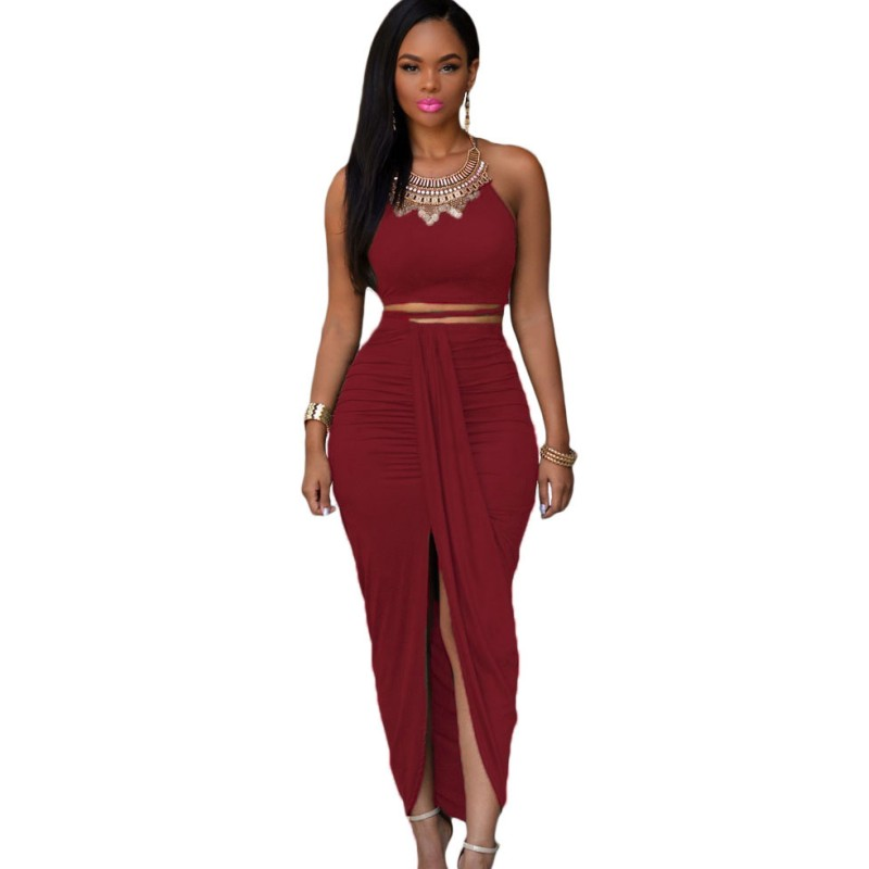 Popular Formal Crop Top Skirt Set-Buy Cheap Formal Crop Top Skirt ...