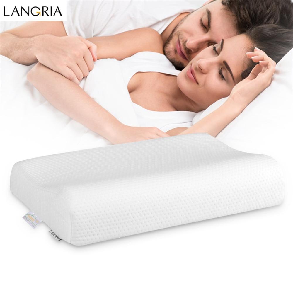 Bedding Memory Foam Sleep Neck Pillow
