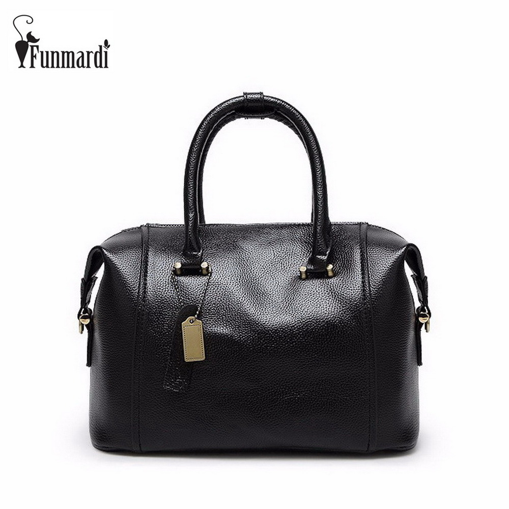 Luxury PU Leather pillow bag star style brand design leather women