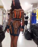 Высокое качество дамы с длинным рукавом сексуальное облегающее мини платье на шнуровке знаменитостей модное платье