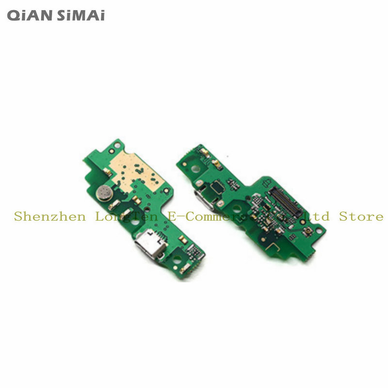 QiAN SiMAi For Huawei Honor 5A / Honor Y6II Y6 II New USB Dock Connector Port Charging Charger Board With Microphone Parts