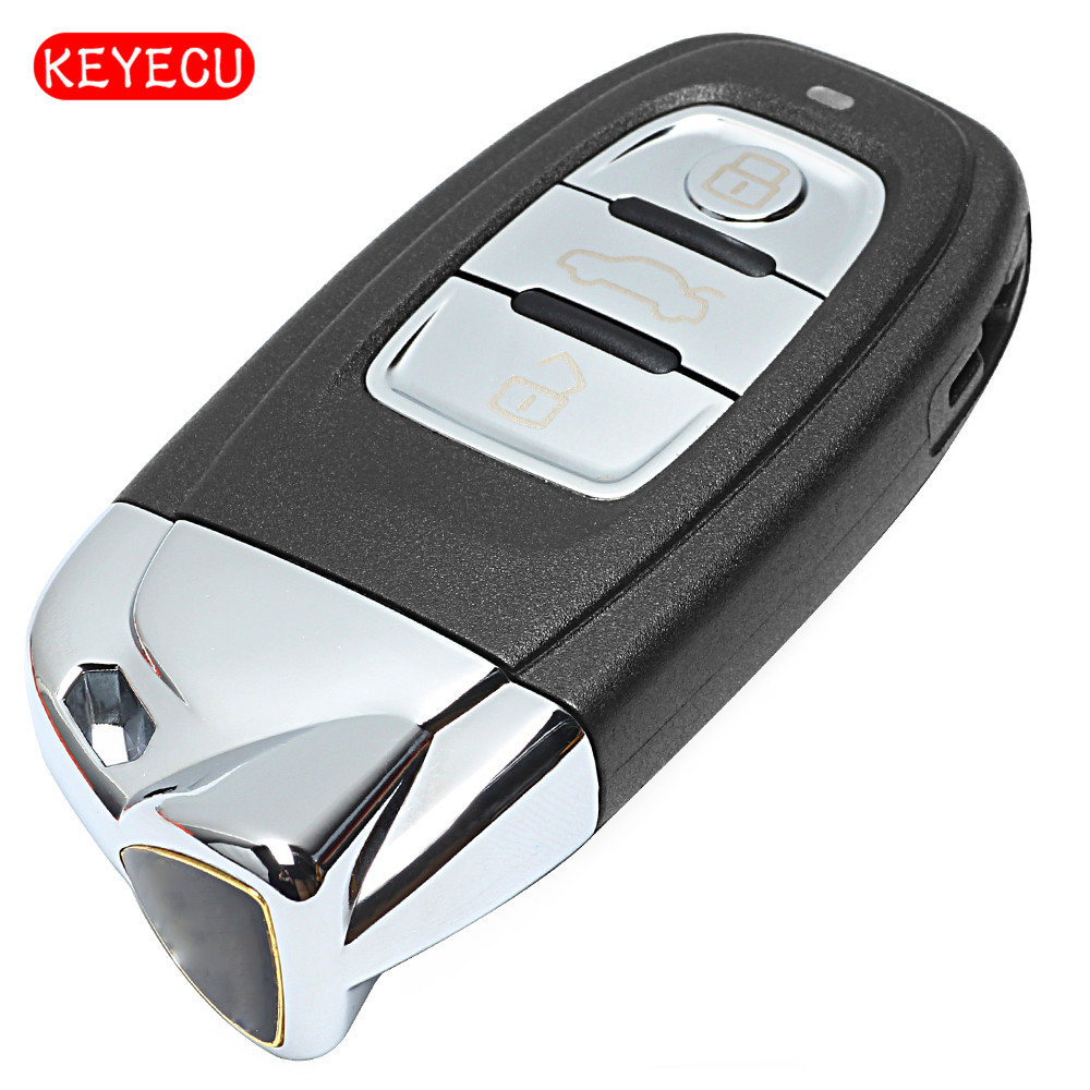 Keyecu Smart Remote Key 315MHz 3 Button Fob Modified as for Lamborghini for Audi FCCID : 8T0 959 754 C цена