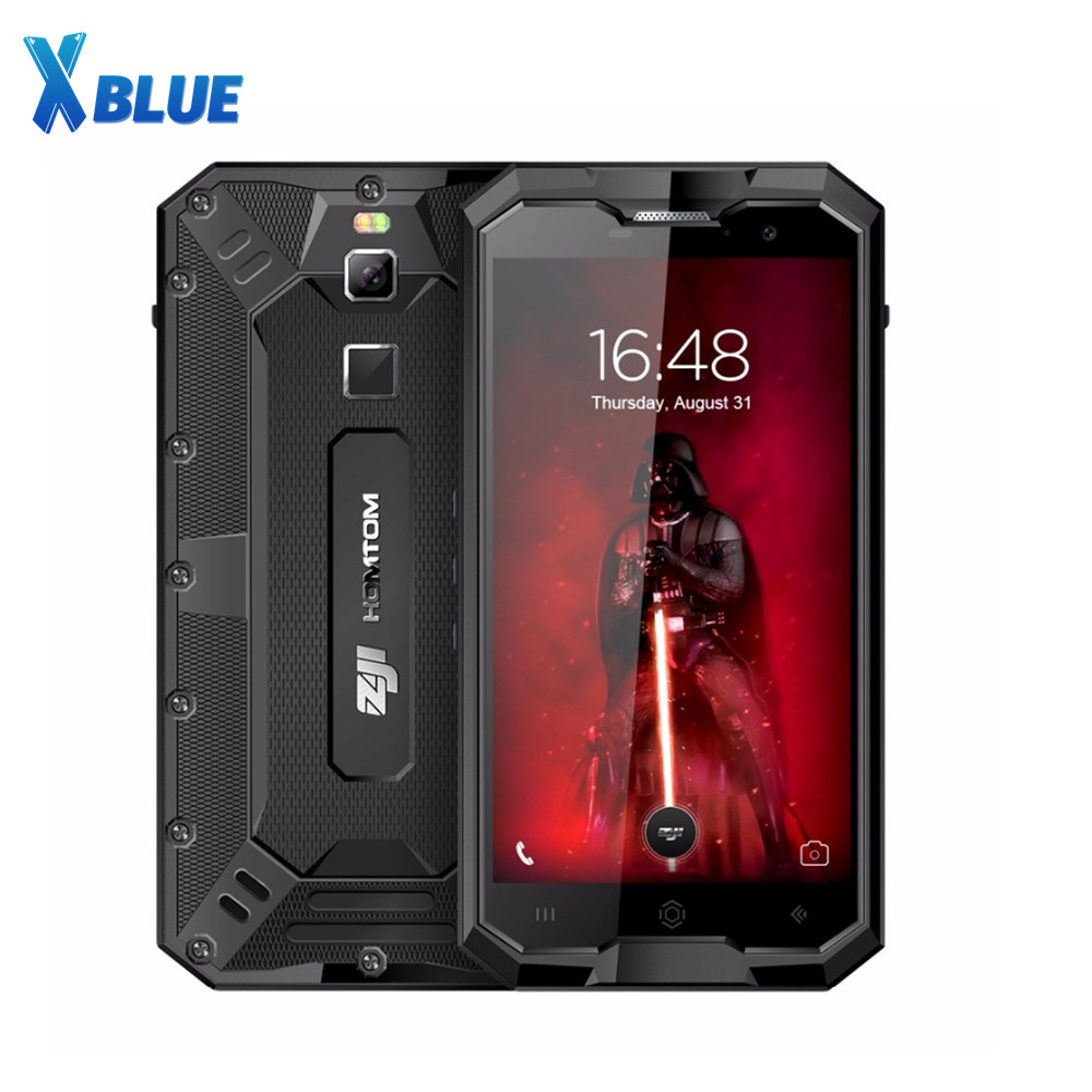 HOMTOM ZOJI Z8 IP68 Waterproof Shockproof Dustproof Fingerprint 4G 4GB RAM+64GB ROM 4250mAh 5V2A Metal Body OTG GPS Smartphone