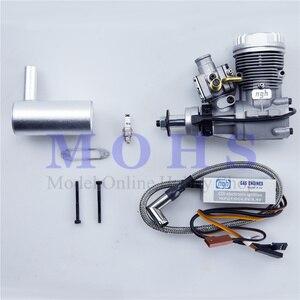 Image 2 - Todos os novos ngh 2 motores a gasolina gt9pro 9cc 2 tempos motores a gasolina rc aviões rc avião dois tempos 9cc motores