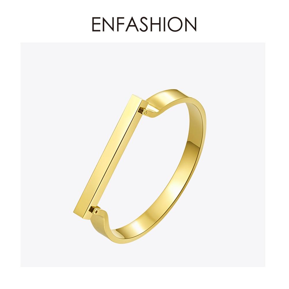 Enfashion Personalizované Vlastní rytina Název Flat Bar - Bižuterie