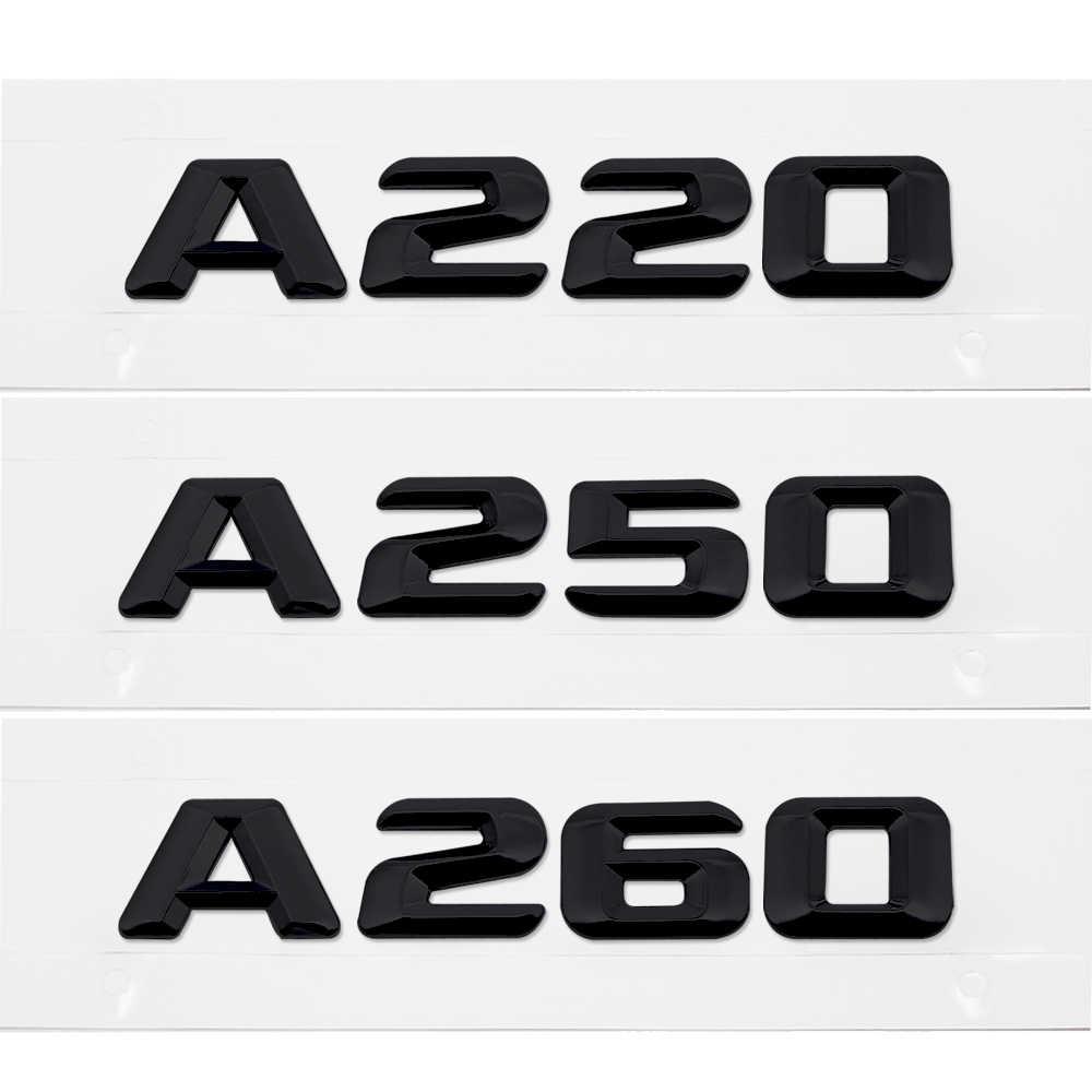 リアトランク手紙エンブレムバッジロゴカーステッカーメルセデスベンツ B クラス B180 B200 B220 W245 W246 W204 W203 w211 W210 W212