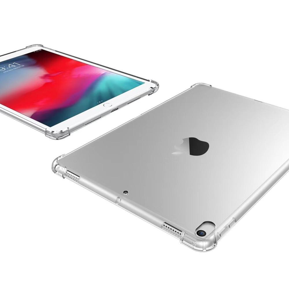 מקרן קיר Drop התנגדות שקופה להגנה עבור Apple iPad Case 9.7 2018 מקרה 10.5 פרו iPad Air 2 מיני 4 3 2 1 מקרים (1)